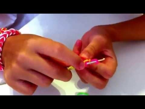 Tutorial: Flor sencilla de gomitas sin telar
