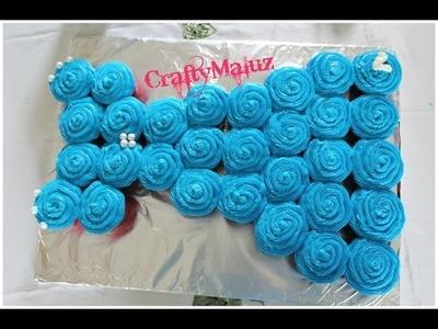 Tutorial ♥ Pullout Cupcake Dress For Birthday Party's. Vestido de Cupcakes para cumpleaños