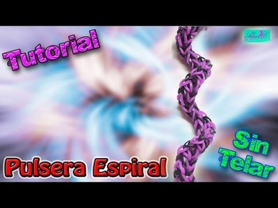 ♥ Tutorial: Pulsera Espiral (sin telar) ♥
