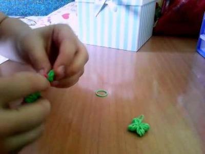 Tutorial: trébol 4 hojas con gomitas (sin telar)