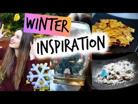 WINTER INSPIRATION: Essentials, DIY Room Decor & Snacks!⎜Lady Scarlett
