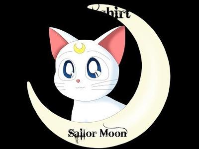 DIY: Camiseta Sailor Moon con cuello bebé