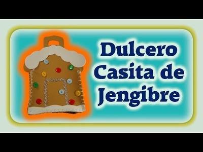 DIY | Dulcero casita de jengibre + Blooper del Día