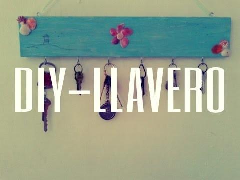 DIY-LLAVERO ♥