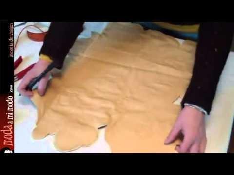 DIY: Un bolso de fiesta con una tela y un cordón
