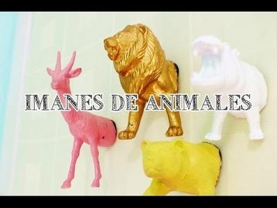 IMANES DE ANIMALITOS - DIY #13