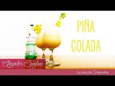 Preparar Piña Colada - DIY Piña Colada preparation