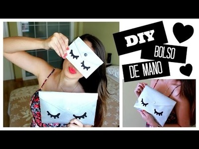 DIY Bolso De Mano Utilizando Una Carpeta