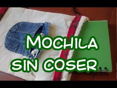DIY: Mochila sin coser