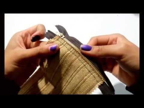 DIY | monedero | facil | rapido