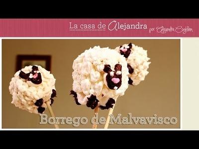 Borrego de Malvavisco para Fin de Año DIY Alejandra Coghlan