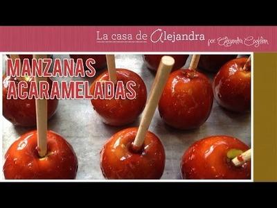 Cómo Hacer Manzanas Acarameladas DIY Alejandra Coghlan