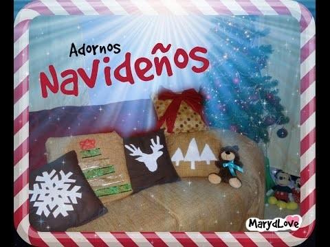 DIY ♥ Cojines navideños¡