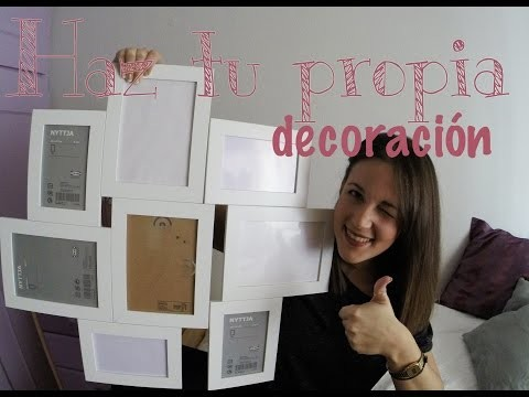 DIY ¡¡Marco con 8 fotos!!