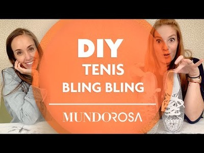 DIY: Tenis bling bling!