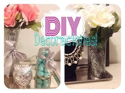 DIY 2 decoraciones súper  fáciles para tu cuarto!