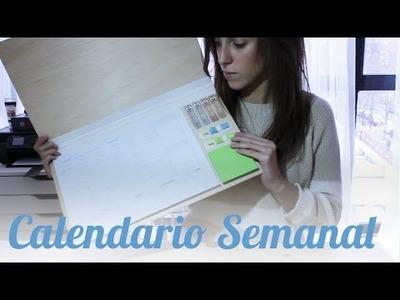 DIY Calendario y organizador semanal || MAKE ESTUDIO