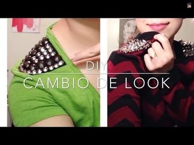 DIY cámbiale el Look a tus camisas! Muy facil