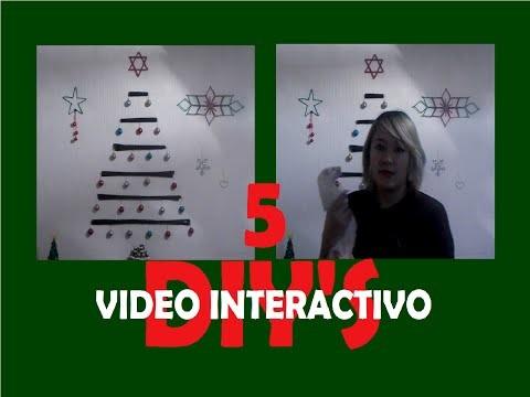 DIY NAVIDEÑO.Video interactivo.