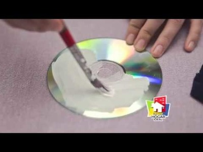 DIY: Portavasos Con CD - Tips de Mapi | Tu Hogar Ideal