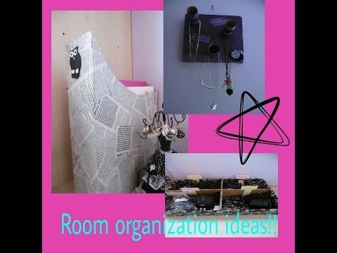 Diy(Room organization ideas)