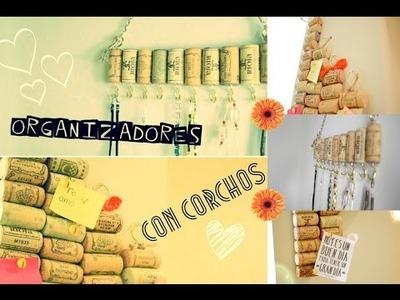 Organizadores con corchos ♡ DIY || Likesely