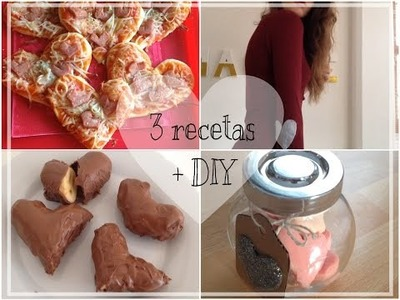 San Valentín: 3 recetas + DIY!