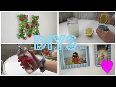 5 DIY ideas para la primavera. verano | beautybymireia