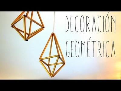 DECORACIÓN GEOMÉTRICA - DIY#12