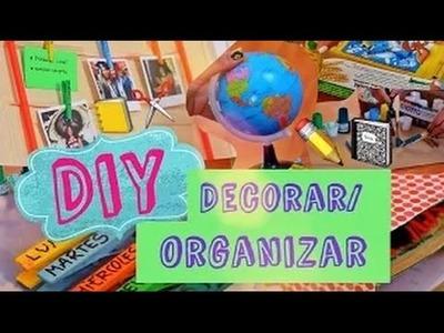 DIY: DECORA Y ORGANIZA!