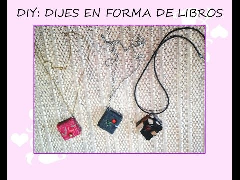 DIY: Dijes en forma de libro de Artistic Little World ♥