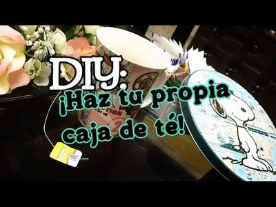 DIY: ¡HAZ TU PROPIA ORGANIZADOR DE TÉ!