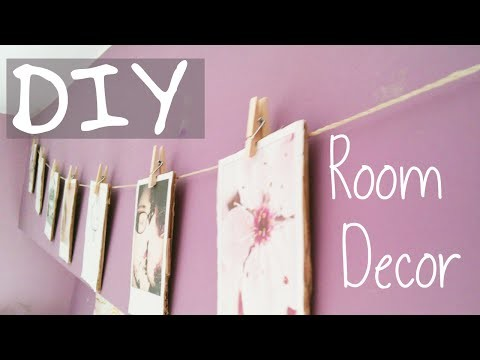 DIY ~ Room Decor (fotos tipo polaroid) ♥Rumiharu♥