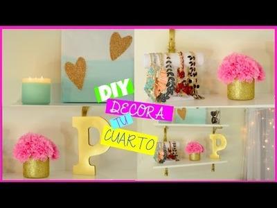 DIY DECORA TU CUARTO| COLAB. Andreina Gonzalez