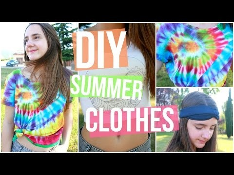 DIY Summer Clothes + Accesories | Lorena Calvo