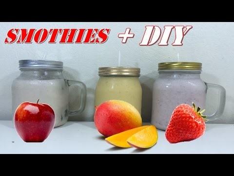 Haz Smothies Deliciosos. DIY