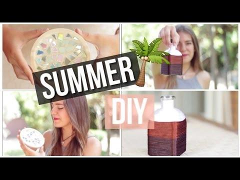 Summer diy | Que hacer cuando te aburres en verano