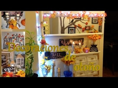 Decoraciones de otoño   DIY