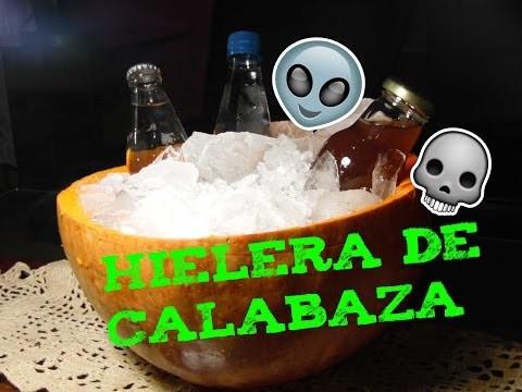 DIY Hielera de Calabaza