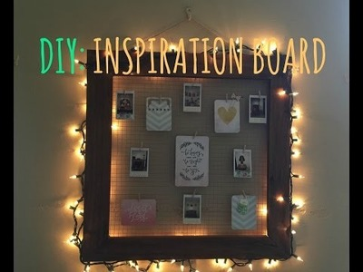 DIY: Inspiration Board