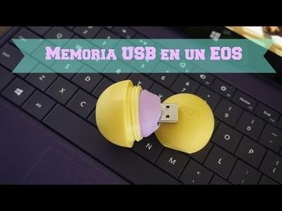DIY - MEMORIA USB EN UN EOS -  Regreso a Clases - Back to School