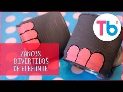 DIY Zancos divertidos de elefante para tus hijos | Todobebé