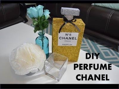 DIY - Perfume Chanel - Decoración