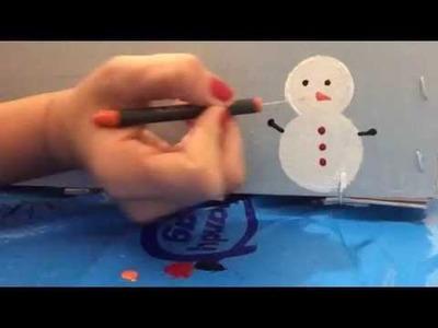 Como hacer cajas navideñas.DIY