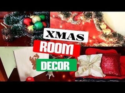 DIY: DECORA TU CUARTO PARA NAVIDAD. HOLIDAY ROOM DECOR