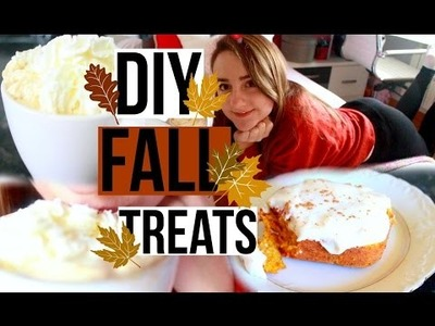 DIY FALL TREATS! | Lorena Calvo