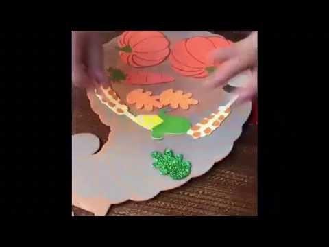 DIY. Foam Craft Kit. Thanksgiving