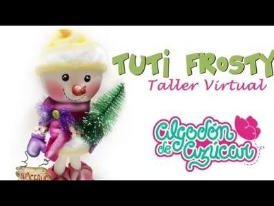 DIY. Tuty Frosty Muñeco De Nieve En Goma E.v.a