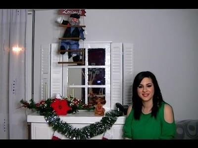 Espejo Ventana de cartón - DIY - Manualidades - Decoración Shabby Chic o Vintage