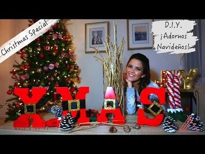 ¡Aquí esta! ¡Segunda Parte del Especial de Navidad!! Decoraciones DIY